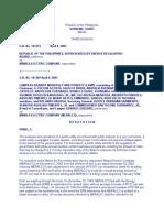 Legal Research - Manila Electric