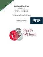 glenbrook health unit plan