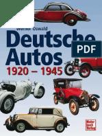 Deutsche Autos 1920-1945