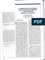 Impacto Fondos Estructurales Europeos CLM