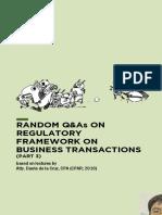 RFBT - Random Q&As (Part 3)