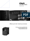 E11S. Manual de Instrucciones FVR. Fuji Electric-Variador Serie FVR-E11S-En Monofásico 200V FVR-E11S-7EN Trifásico 400V FVR-E11S-4EN