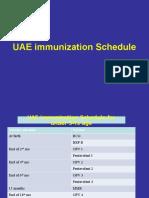 Immunization Schedule UAE
