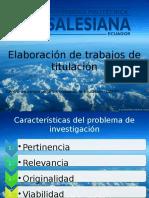 Diapositivas estructura metodológica