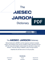 The Aiesec Jargon Dictionary