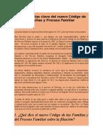 1.- 10 Preguntas Clave Sobre El Código de Las Familias y Del Proceso Familiar
