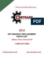 CPM Parts Catalog 6-8-12
