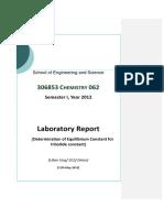 Microsoft Word - Chem Lab Report Sample Lilian Ung