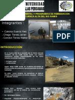 EVALUACIÓN AMBIENTAL Y PROGRAMAS DE REMEDIACIÓN DE LA CUENCA ALTA DEL RIO RAMIS