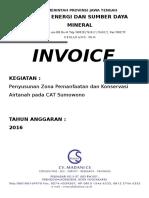 Cover Invoice