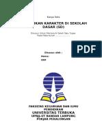 makalah pendidikan karakter di sd.doc