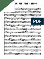 Que Bom Que Vc Chegou - Alto Saxophone