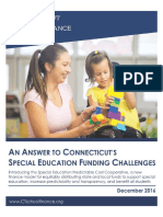 Special Education Predictable Cost Cooperative Policy Paper