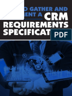 How to Gather and Document a CRM Requirements Specification