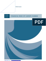 financial risks of climate change