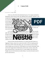 Strategic Management Nestle