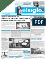 Edición Impresa El Siglo 20-12-2016
