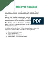 Tips to Recover Facades