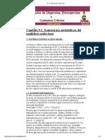 5.1.2 Transtorno Metabolico Equilibrio Acido Base