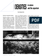 Pathogen densities in nature and the aquarium