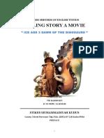 Telling Story Ice Age 3