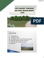 Model Tenurial