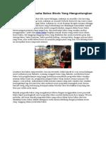artikel mesin bakso dan makanan bakso