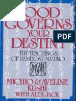 Food Governs Your Destiny - Mizuno Namboku