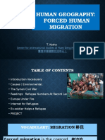 Forced Human Migration 20161124