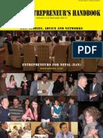 Entrepreneurs for Nepal handbook