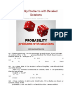 Probability Problems With Detailed Solutions