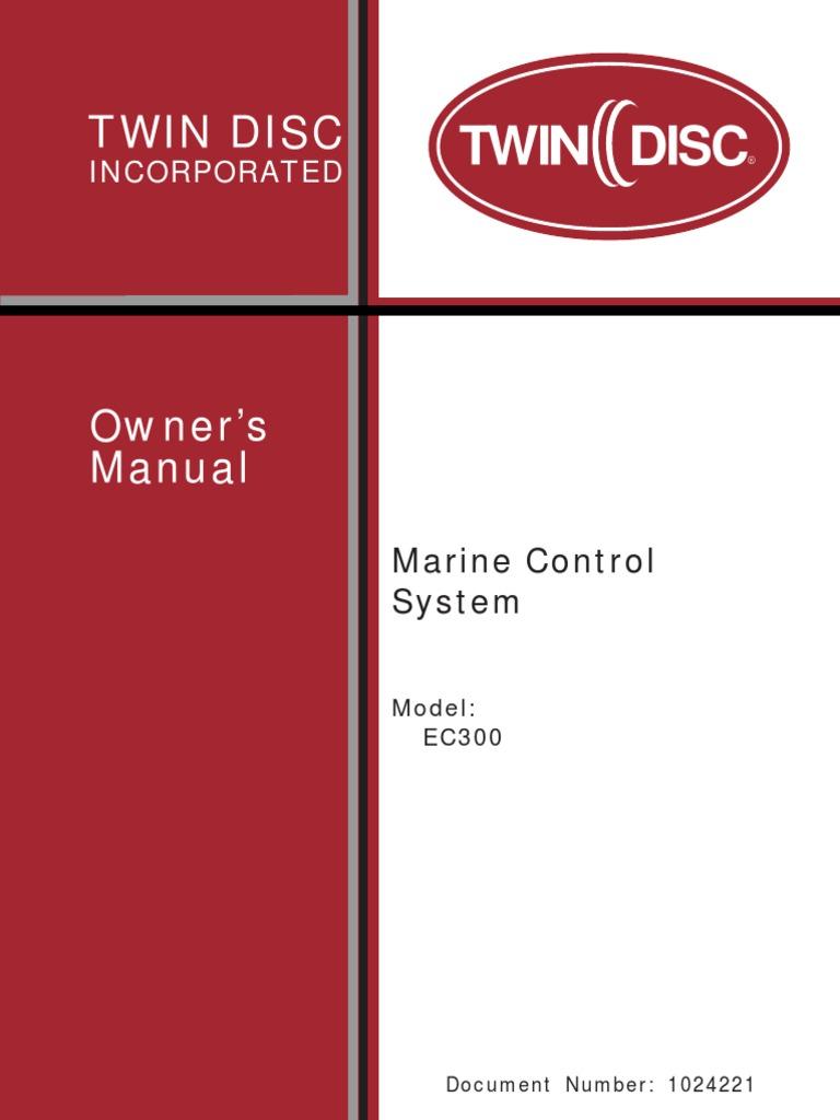 1024221 revd 0213 cd transmission mechanics machines rh scribd com twin disc quickshift ec300 manual Medtronic EC300