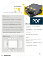 F-ipc110 Industrial Computer Technical Specification v1.0.0