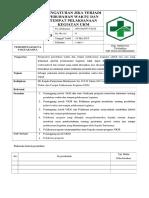 4.2.3.6 SPO Pengaturan Jika Terjadi Perubahan Waktu Dan Tempat Pelaksanaan Kegiatan (Oke)
