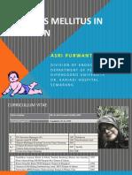 Diabetes Mellitus in Children IDAI SEMINAR ONLINE