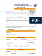 Exclusive Card Application Form_Retired Personnel
