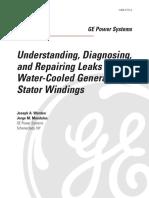 Ger 3751a Understanding Diagnosing Repairing Leaks h20 Gen Stator Windings