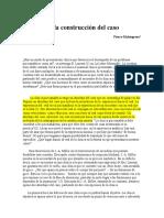 Pierre Malengreau - Nota Sobre La Construcción Del Caso