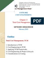 Total Cost Management, TCM
