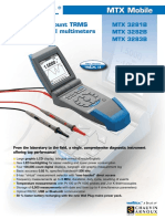 MTX3282B multimeter