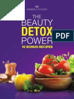 Kimberly Snyder - The Beauty Detox Power - 10 BonusRecipes