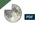 Plantilla Para La Luna Del Belen
