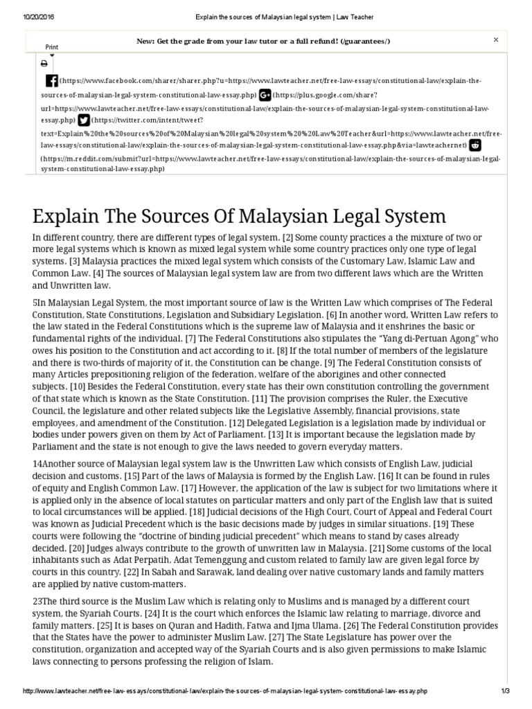 difference of malaysia legal system and australia legal system The government of malaysia is a constitutional monarchy, which practices a parliamentary democracy the legal system of malaysia centres.
