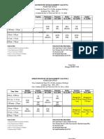 Class Schedule Term-VI(1)