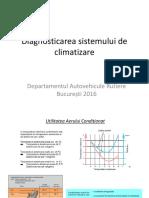 Diagnosticarea Sistemului de Climatizare