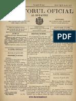 Monitorul Oficial Al României 46 Nr 082 11 Aprilie 1878
