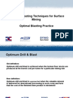 10 Optimised Blasting
