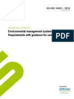 Environmental management systems – Requirements with guidance for use