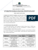 6833 Edital 120 Especifico Campus Santa Luzia 1
