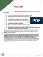 Beyond Budgeting ACCA F5